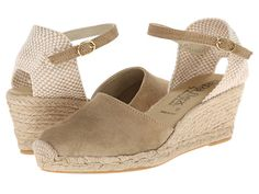 Future purchase.I need espadrilles that aren't 4 inches high. David Tate Europa Size 7, please