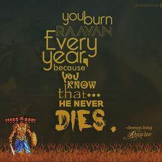 RAAVAN never dies!
