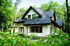 Widok domu Jesion  #projekt #dom #budowa