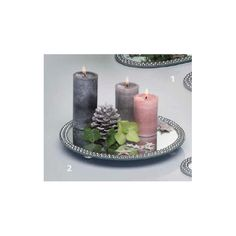 MIROIR ROND STRASS 30 CM Passion Decor, Decoration, Pillar Candles, Candle Holders, Unique Home Decor, Rhinestones, Decor, Porta Velas, Decorations