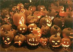 Keene Pumpkin Festival Oct. 22, Keene, N.H. It's not just trying to set a world record for most lit pumpkins - although there's that, too - the annual Keene Pumpkin Festival also features hayrides, a pie-eating contest, and a seed-spitting contest.