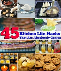 45 Amazing Kitchen Life-Hacks That Are Absolutely Genius