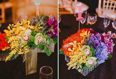 {My Love} Rainbow Wedding Inspiration