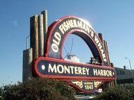 Monterey Harbor. Monterey, Ca.