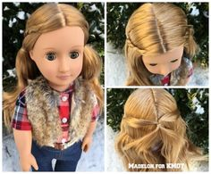 Today Madelon shares her Jamie Doll, an Our Generation Retro Doll who reminds us both of the AG doll Julie!     I love the face mold that ...