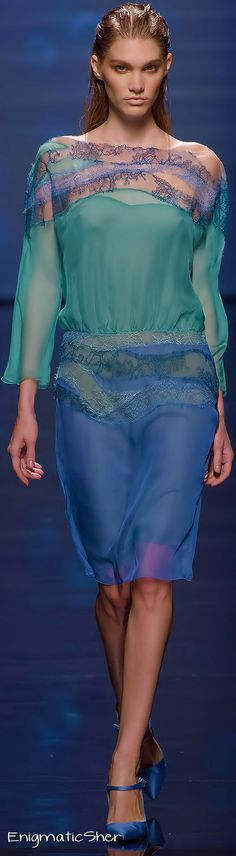Alberta Ferretti Spring Summer 2013 Ready-To-Wear