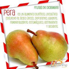 ¿Qué tal un rico ponche con nutritivas peras? En esta temporada de frío, #Utraining les recomienda alimentarse sanamente