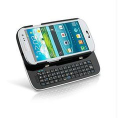 Home :: Best Sellers :: Sliding Bluetooth Keyboard Case for Samsung Galaxy S3 - Black - Retail
