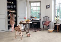 Quick Step flooring - Dominican Oak in grey