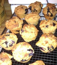 Here is another one of those Jillian Michaels recipes from her Master Your Metabolism cookbook. I LOVE these muffins! Since I live alone, I make a dozen, let them cool completely, wrap them in tin-...