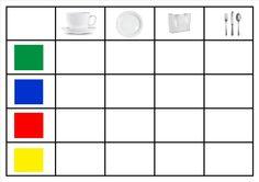 matrix eet smakelijk File Folder Games, Worksheets, Bar Chart, Preschool, Activities, Numbers, Kindergarten, Patterns, Primary School