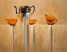 Changeling by David Cheifetz Oil ~ 11 x 14