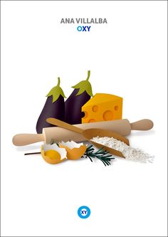 ANA VILLALBA / Food Illustration / @ : oxy-illustrations@orange.fr