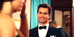 Matt Bomer being silly on White Collar season 6 Gag Reel