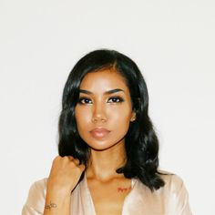 """The Queen of break up anthems Jhene Aiko is back to deliver the brand new single titled """"Wasted Love"""" (Freestyle). The record comes off very personal to Jhene Jhene Aiko, Small Box Braids, Long Box Braids, Pretty People, Beautiful People, Celebrity Moms, Box Braids Hairstyles, Celebs, Celebrities"""