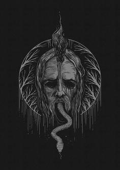 Jan Pimping / Dark Providence #bleaq #illustration
