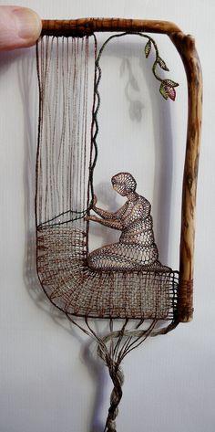Needle Lace by Ágnes Herczeg