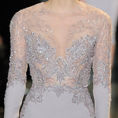 Pin for Later: Everything You Need to Know About Haute Couture A Closer Look at Elie Saab's Beading