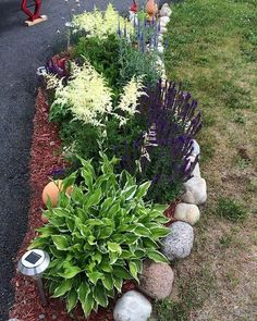 Front Garden Decor Ideas- Enhance Your Front Entrance With These ideas! – Page 2722967179 – Gardening Decor Landscaping With Rocks, Front Yard Landscaping, Landscaping Ideas, Outdoor Landscaping, Garden Yard Ideas, Garden Projects, Garden Path, Trees For Front Yard, Front Yards