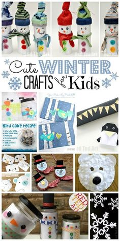 Easy Winter Crafts f