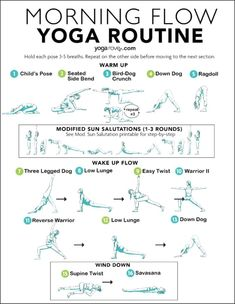 Morning Yoga Routine for Beginners 10 Minute Morning Yoga, Morning Yoga Flow, Wake Up Yoga, Morning Morning, Morning Stretches Routine, Morning Yoga Sequences, Morning Yoga Workouts, Pranayama, Yoga Fitness