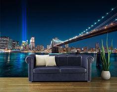 penthouse-vlies-new-york-foto-poszter-tapeta - bator_cs - indafoto. New York Wallpaper, Photo Wallpaper, Wall Wallpaper, Wall Murals, Wall Art Decor, Wall Appliques, Outdoor Sofa, Outdoor Decor, Concrete Jungle