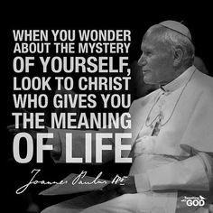 This page is dedicated to Pope John Paul II; John Paul the Great; Catholic Saints, Roman Catholic, Catholic Religion, Holy Mary, Catholic Archangels, Inspirational Catholic Quotes, Catholic Gentleman, Pope John Paul Ii, Paul 2