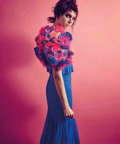 Alana Bunte in Chanel Couture for Harper's Bazaar Mexico May 2015