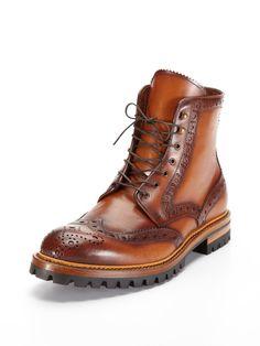 Antonio Maurizi Wingtip Boots