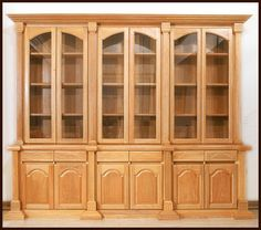 Acabados & Formas China Cabinet, Cooking Recipes, Furniture, Home Decor, Libraries, Shapes, Wood, Home, Decoration Home