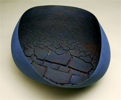"Steven Heinemann: Residuum (2012) // Céramique, cuissons multiples, 16 x 30 x 29cm / Ceramic, multiple firings, 6"" x 12"" x 11"""