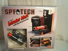 Vintage Spy Tech Gadgets Intruder Alert Camera Real Working Accessories 2 Sets | eBay