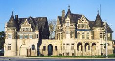 Old Eighth Precinct Police Station--Detroit MI.... converted into lofts in 2013.
