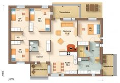 House Plans, Projects To Try, Floor Plans, Flooring, How To Plan, Wood Flooring, House Floor Plans, Floor Plan Drawing, Floor