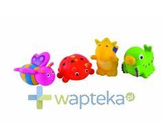 Zabawki do kąpieli CANPOL Ogród 2/997 4 sztuki 16583   Wapteka.pl
