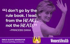 Here's Your Inspirational Quote from Princess Diana  https://www.womenshealthmag.com/life/princess-diana-quote