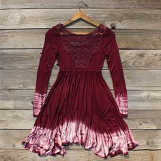 October Glow Dress, Women's Bohemian Clothing