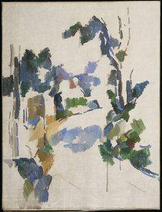 Paul Cézanne / Study of Trees / c. 1904 / Alternate Title: Arbres; Winding Road…