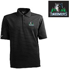 Father's Day is near so help Dad look snazzy with this pinstripe black #Wolves polo. Perfect for business and showing Wolves pride!
