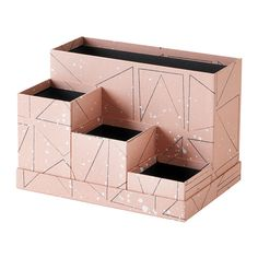 Trust IKEA's desk accessories for your office space including letter trays, pen cups, workspace organizers, storage boxes and more. Storage Boxes With Lids, Small Storage, Diy Storage, Storage Bins, Cardboard Organizer, Cardboard Crafts, Cardboard Playhouse, Cardboard Furniture, At Home Furniture Store