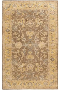 Maison Area Rug - Wool Rugs - Hand-tufted Rugs - Traditional Rugs - Border Rugs | HomeDecorators.com