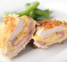 Chicken Cordon Bleu - A Family Feast® - New Ideas Clam Cakes, Grilling Recipes, Cooking Recipes, Chicken Cordon Blue, Corn Relish, Salty Foods, Delicious Burgers, Healthy Eating Tips, Empanadas