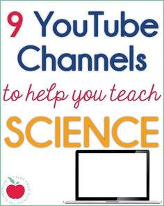 Using videos in lessons can keep student engagement high, and help teach tricky concepts in visual ways.  This is a collection of my favorite science YouTube channels for elementary grade science classes.  Students will love these science videos and will keep engaged and interested in lesson through their exciting format.