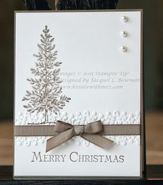 Lovely as a Tree Stampin Up