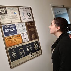 safety first poster Portal 2 Game, Game Room Decor, Best Games, Vintage Posters, Geek Stuff, Kit, Cave, Safety, Husband