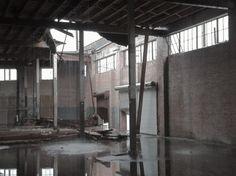 Hughes Warehouse Adaptive Reuse,Before. Image © Scott Adams, AIA