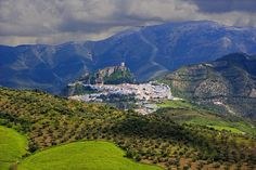 Pueblos blancos de Cádiz. Zahara de la Sierra