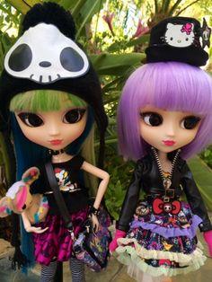 Pullip Doll 2014 | Pullip Tokidoki Hello Kitty Violetta