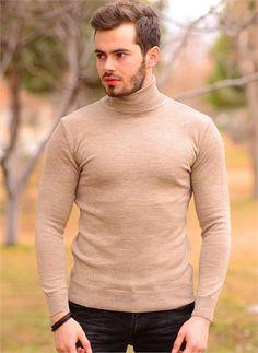 Erkek Kazak Boğazlı Toprak 504
