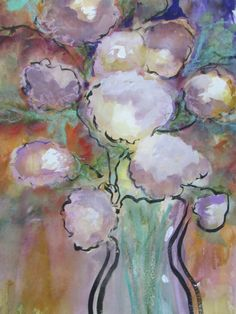 MILLIE GIFT SMITH Original Signed 2000-now Floral Unique Abstract [up to 30] #Modernism